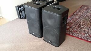 QSC HPR112 Powered Speakers pair