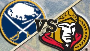 Ottawa Senators vs Buffalo Sabres, March 8th, 2018