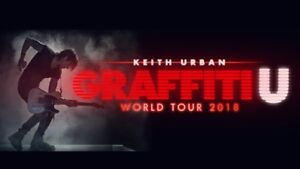 Keith Urban, Rogers Arena Vancouver, Sept 25-Great Price