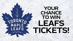 Your chance to WIN LEAF TICKETS to the Leafs/Rangers game