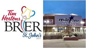 Brier Tickets for Draw 2 and Draw 4!!!