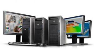 HP/DELL/IBM/LENOVO WS up to 2xSix-Core&96GB RAM Powerful Systems