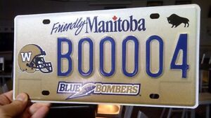 Blue Bombers Plates Anyone Got These Around That Wants Cash