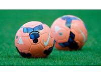 7-a-side game of football, players wanted