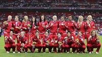 Canada's Women vs. England -International Soccer