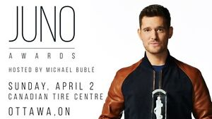Tickets for the 2017 Juno Awards - Get them now before they sell