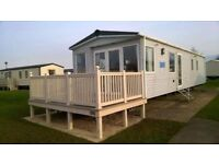 2018 BOOKINGS OPEN**Stunning 8 berth caravan with veranda at Haven's 5* site PRIMROSE VALLEY**