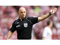 Football Referees Wanted for Manchester Accountants League