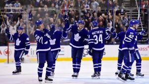 TORONTO MAPLE LEAFS TICKET FEBRUARY GAMES