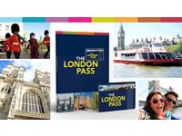 London attractions tourist pass RRP £154 80+ attractions