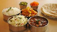 Tiffin service or punjabi dabba