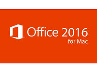 Microsoft MAC Office 2016 (Outlook,Word,Excel,OneNote,PowePoint) With Key