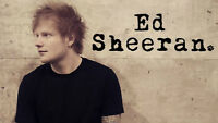 Ed Sheeran Tickets - Sold Out!  $350 OBO