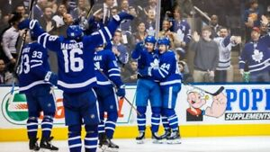 TORONTO MAPLE LEAFS TICKETS EVERY HOME GAME LEFT CHECK IT OUT!