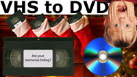 Christmas *GIFT IDEAS* Family VHS Tapes to DVD Transfers