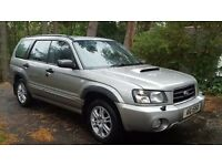 Subaru Forester, SUV 2.5 XT 5dr Manual, Metallic Silver with Black Leather interior.