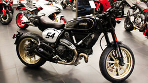Ducati 2018 Cafe Racer, Just arrived Buy Now save on price hikes