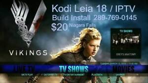 Android Box Sale, Update Kodi 18 /IPTV Programming