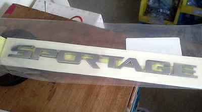 "Genuine 05~09 KIA ""SPORTAGE"" Rear Trunk Script letters Emblem"