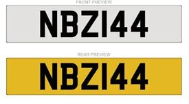 NBZ144 NUMBER PLATE FOR SALE