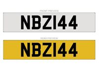 NBZ 144 - Cherished Number plate for sale