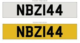 NBZ144 Cherished Number plate for sale