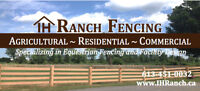 IH Ranch Fencing - Agriculture Fencing and Dog Kennels
