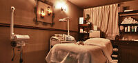 Nail station, spa room & chair rental available