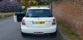 2013 Mini One Hatchback 1.6 3 Door 5 Seat 6 speed petrol. Only 26118 Miles! IMMACULATE. CAT-D