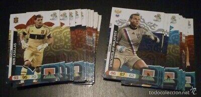 Lote de 51 cromos de futbol Adrenalyn XL Euro 2012; Panini -...