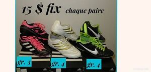 souliers soccer /enfants