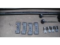 Thule Square Roof bars 761 and Fitting kit 1003