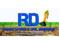 Driveways and paving specialists RDJ Groundworks Ltd