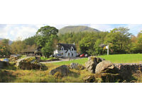 Housekeeping - Full Time £7.20 per hour. Clachaig Inn, Glencoe
