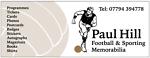 Paul Hill Sporting Memorabilia
