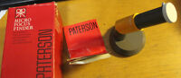 Paterson MICRO FOCUS FINDER *like-NEW / comme-NEUF* ENGLAND