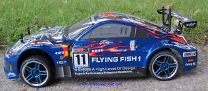 New RC Car Brushless Electric 1/10 Scale 2.4G 4WD LIPO Kitchener / Waterloo Kitchener Area image 2
