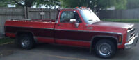 1980 GMC Other Pickups Sierra  Classic Pickup Truck