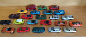 Lot Autos miniatures