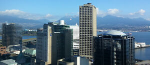 Downtown Waterfront View 2BR Condo, Gym, Pool Downtown-West End Greater Vancouver Area image 1