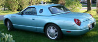 2002 Ford Thunderbird convertible Cabriolet