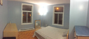 daily or weekly rental near metro joliette newly renovated