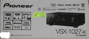 Pioneer VSX-1027-K 7.2 Channel 3D Ready Home Theater Receiver
