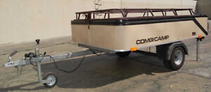 New Price!  Combi-Camp Trailer-Tow Behind Car or Motorcycle