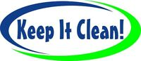 KEEP IT CLEAN COMMERCIAL / RESIDENTIAL - NOW HAS OPEN POSITIONS