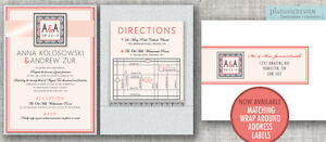 CUSTOM DESIGNER WEDDING INVITATIONS HAMILTON ON Oakville / Halton Region Toronto (GTA) image 5