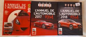 ANNUEL DE L'AUTOMOBILE 2010/17/18
