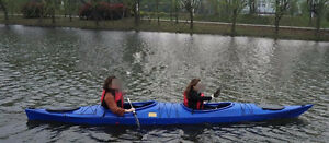 Half Price Special 16 feet  Double Seat In  Ocean Quality Kayak