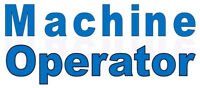 Machine Operator – full time work with benefits!