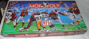1998 Collectors Edition NFL Football Monopoly Sarnia Sarnia Area image 1